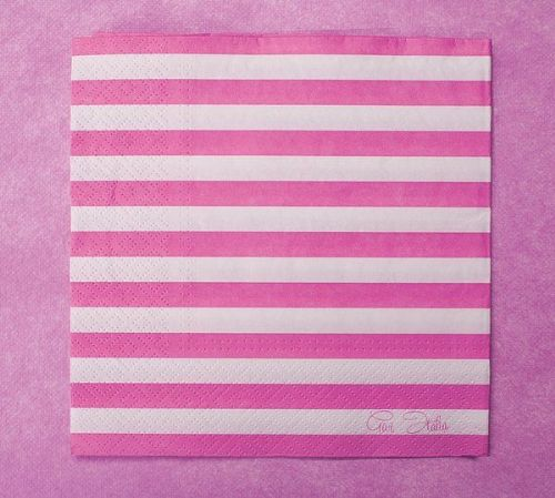 Stripe Napkins 3ply 33 x 33cm Wedding BBQ Birthday Party Table Disposable